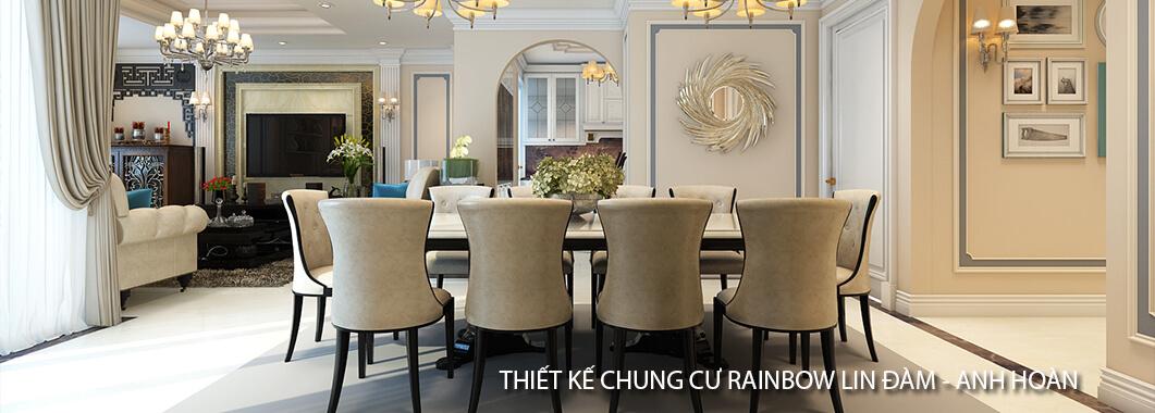 imgThiết kế chung cư RainBow Linh Đàm - Anh Hoàn