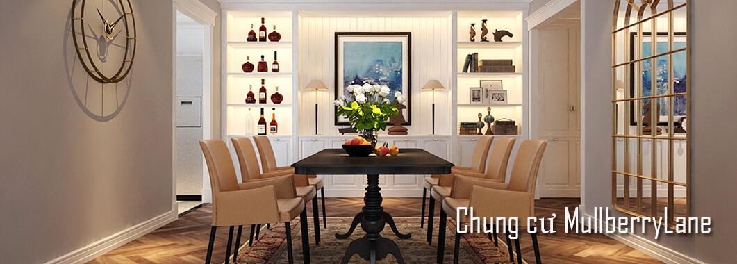 Thiết kế chung cư đẹp Mulberry Lane - Anh Linh