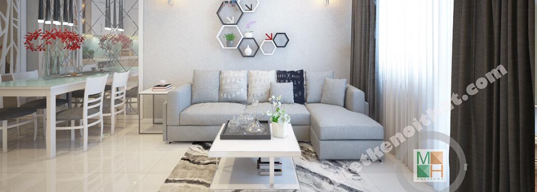 imgThiết kế nội thất căn hộ SaigonLand - Nhà anh Quang