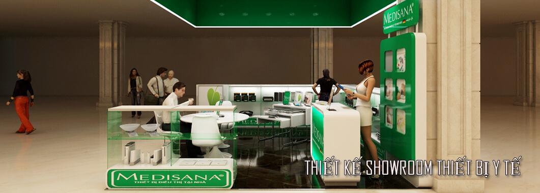 imgThiết kế showroom thiết bị y tế - tại Royal City