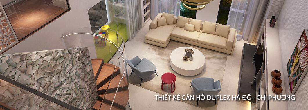 imgThiết kế căn hộ Duplex tại chung cư Hà Đô - Chị Phương