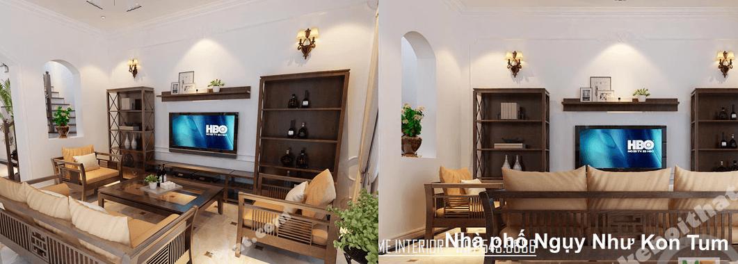 Thiết kế nhà liền kề tại Ngụy Như Kon Tum - Anh Hùng