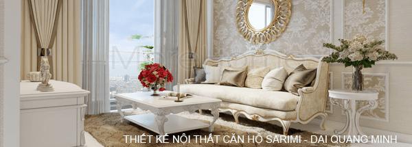 Thiết kế căn hộ Sarimi - Đại Quang Minh