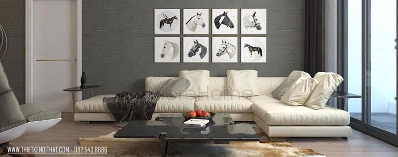Thiết kế nội thất sang trọng, hiện đại tại căn hộ Grand City - Anh Hà