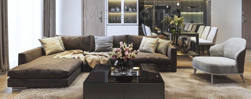 Thiết kế chung cư hiện đại sang trọng tại căn hộ Đảo Kim Cương - Quận 2