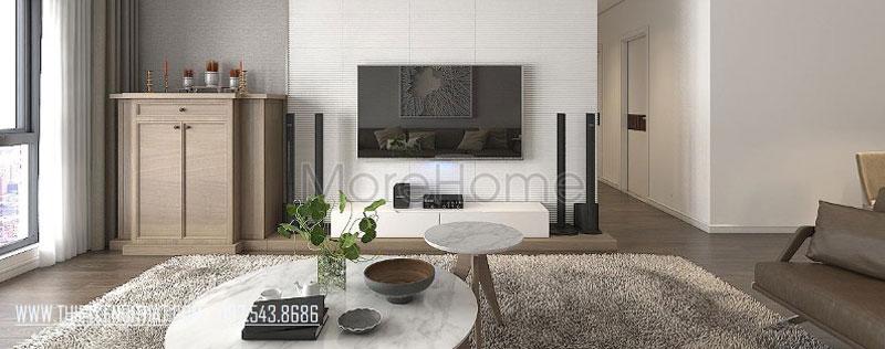Thiết kế nội thất chung cư hiện đại Mulberry Lane Hà Đông, Hà Nội - Chị Hương