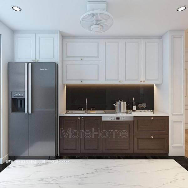 Interior design of Times City kitchen apartment