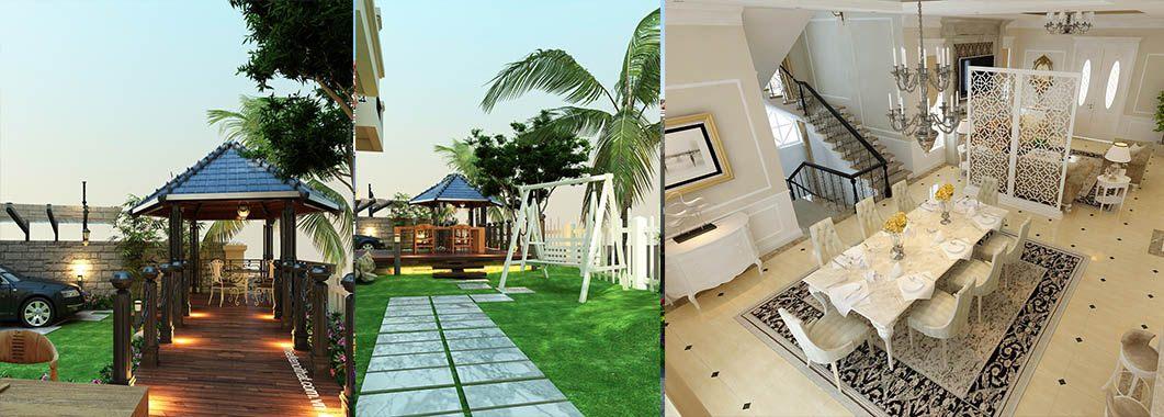 Thiết kế nội thất biệt thự Vincom Village HS0352