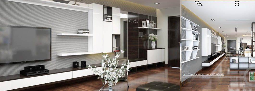 imgThiết kế nội thất căn hộ chung cư Mandarin Garden -Mr Lê Anh 3 phòng ngủ