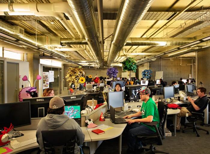 Kết quả hình ảnh cho thiết kế nội thất văn phòng sáng tạo cho ngành phát triển game
