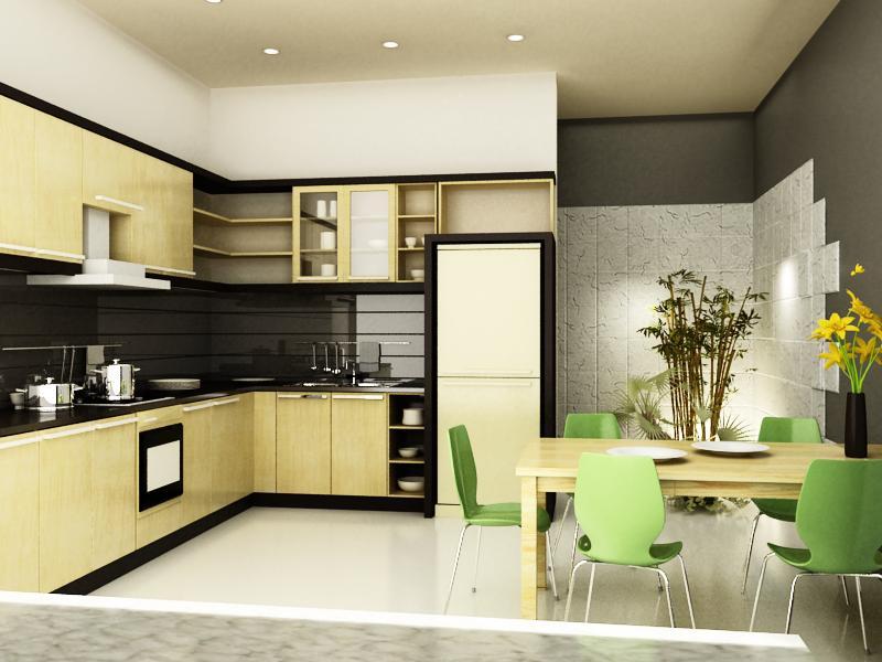 Biện pháp thi công tủ bếp phù hợp với gia đình bạn