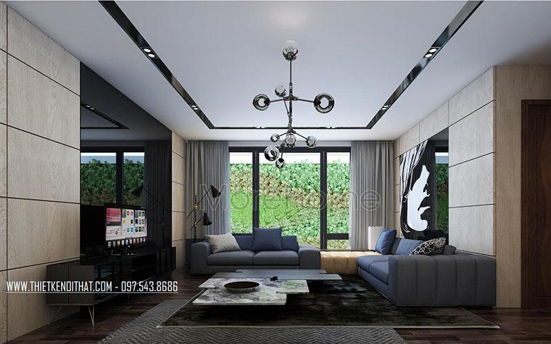 Thiết kế biệt thự nhà vườn 2 tầng đẹp độc đáo