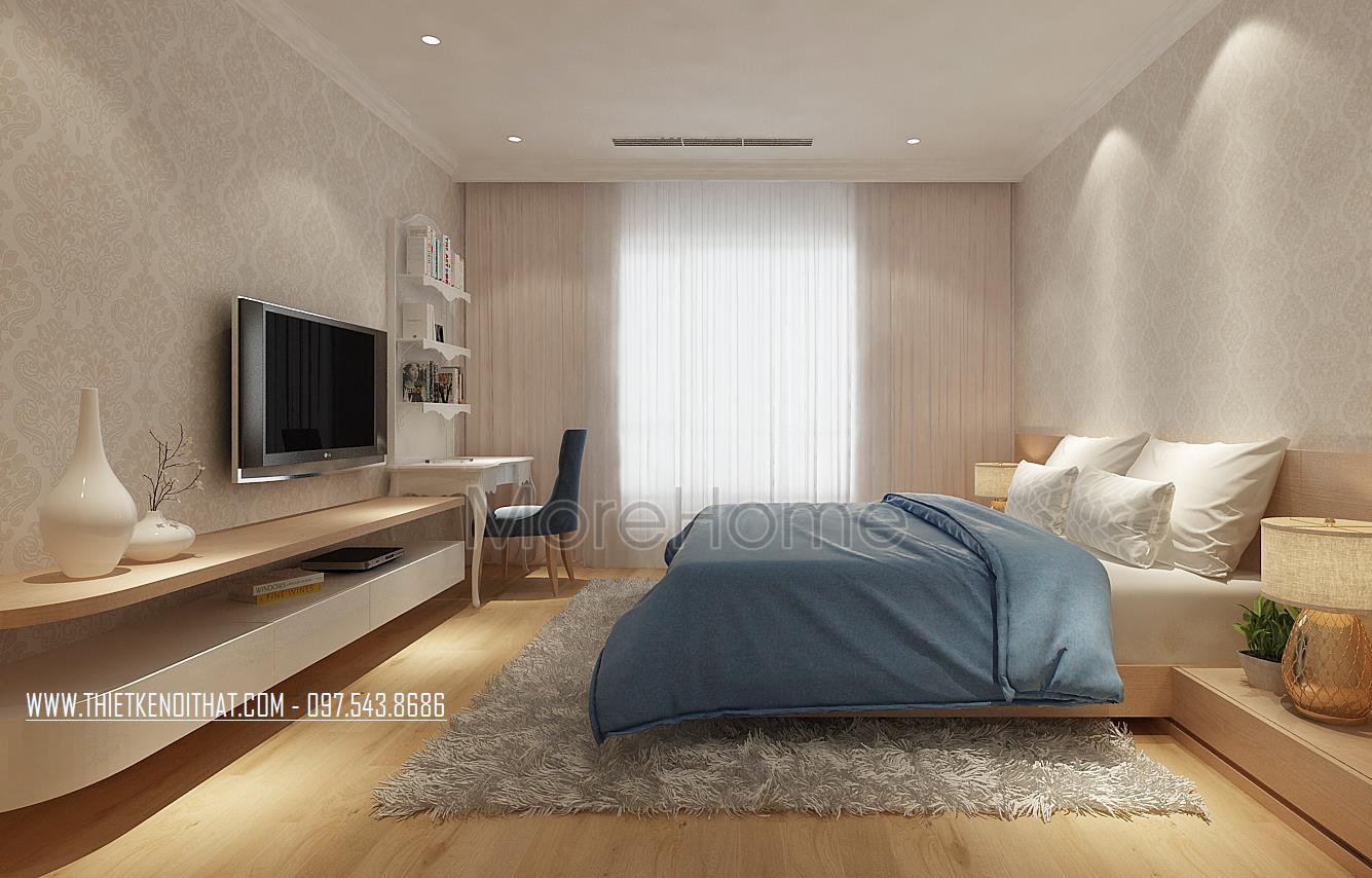 Thiết kế chung cư 2 phòng ngủ dành riêng cho không gian nhỏ hẹp