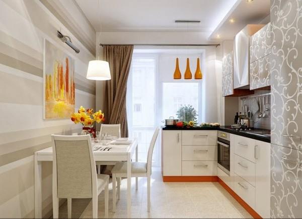 Thiết kế nội thất phòng bếp chung cư nhỏ