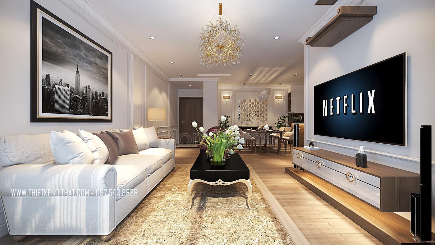 Thiết kế nội thất nhà ở màu vàng siêu đẹp lại hợp phong thủy